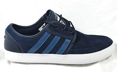 #Adidas #seeley boat #c75631 deck skate shoes skateboarding navy suede 10 - 13 bn,  View more on the LINK: http://www.zeppy.io/product/gb/2/141752183134/