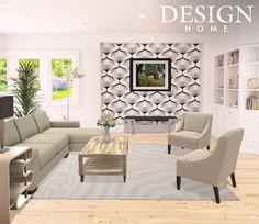 Contemporary livingroom by tiffani valencia