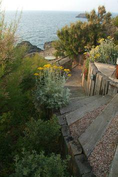 ERIC LEQUERTIER : création de jardins Saint Malo, jardin bord de mer