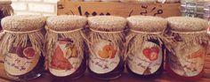 Homemade Fig jam Quince jam Pumpkin jam Strawberry jam Carrot jam Jam jars baby favors