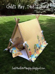 As a child I remember building forts, tents and tee pees with sheets, blankets and pillows layered over chairs, sofas and beds. Something m...