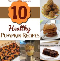 10+ Healthy Pumpkin Recipes