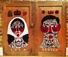 "RICARDO·CAVOLO DIARY: ""Luba and Bogdan"""