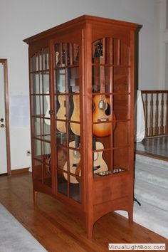 Humidified Guitar Cabinet, Medium: American Music Furniture, LLC | Music |  Pinterest | Music Furniture, Guitar Cabinet And Guitars