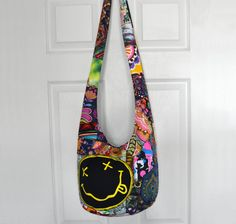 Hobo Bag Crossbody Bag Sling Bag Hippie Purse by 2LeftHandz