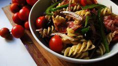 Good Breath Salami Pasta Salad