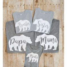 Mama Bear Shirt matching family shirts Bear Family Shirts Matching Family Shirts New Mother gif - Family Shirts - Ideas of Family Shirts Papa Bear Shirt, Family Outfits, Family Clothes, Momma Bear, Christmas Shirts, Graphic, Mother Gifts, New Baby Products, Mommy And Me