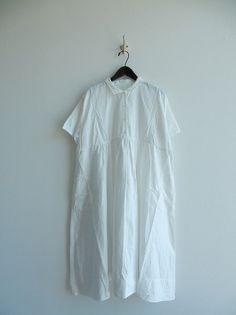 ヴェリテクール Veritecoeur コットンワンピース Sack Dresses, One Piece, Chiffon, Couture  Sewing, 5ed09f3ade4