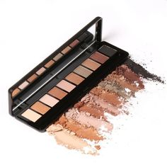 Naked Eyeshadow Palette 10 Colors Eye Shadow Makeup Shimmer Matte Earth Color Nude Eye Shadow
