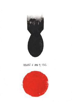 Hiroshima and Nagasaki.