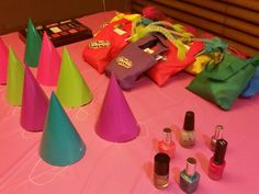 """Favors and shopkins """"spa"""""""