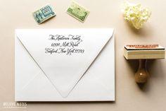 Return Address Custom Wood Handled Stamp by SincerelyJackie, $35.00