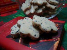 Black Sesame Shortbread Cookies (Life by Kareninyshka)