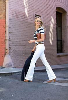Tenue jean skinny blanc femme jolie