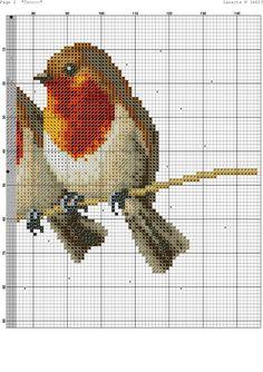 """Photo from album """"птички"""" on Yandex. Cross Stitch Bird, Cross Stitch Alphabet, Cross Stitch Animals, Cross Stitching, Cross Stitch Embroidery, Cross Stitch Sampler Patterns, Cross Stitch Samplers, Cross Stitch Charts, Cross Stitch Designs"""