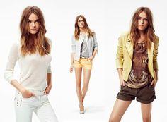 Fantasy Fashion Design: IKKS woman muestra su lookbook primavera verano 20...