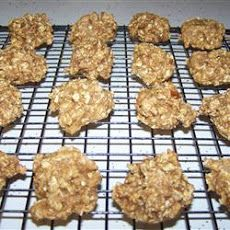 Honey Oatmeal Cookies Recipe -- Think I'll use this for the sugar-free kids at play practice.