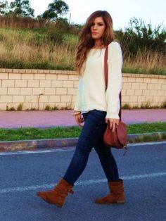 nadianosinmistacones Outfit   Invierno 2012. Cómo vestirse y combinar según nadianosinmistacones el 1-11-2012