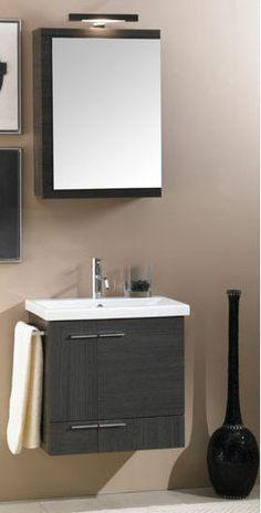 Option for Powder Room Vanity in Wenge
