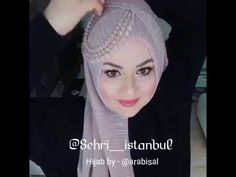 Sehri's hijab tutorials are some of my favo, in ❤️ with this particular look! Great for a wedding or other special occasions Bridal Hijab, Bridal Shawl, Wedding Hijab, Pakistani Bridal Hairstyles, Pakistani Bridal Dresses, Hijab Style Dress, Hijab Chic, Head Scarf Styles, Hair Styles