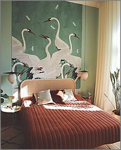 Decoration Bedroom, Decor Room, Teal Bedroom Decor, Bedroom Colors, Wedding Decoration, Bedroom Ideas, Wall Decor, Style At Home, Home And Deco