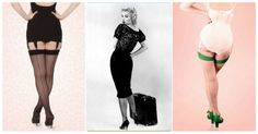 What Katie Did 40s Retro Seamed Stockings, I love these!