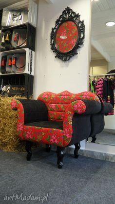 Fotel Folk Design Aneta Larysa Knap. $437