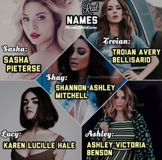 I can't believe that Lucy isn't her name