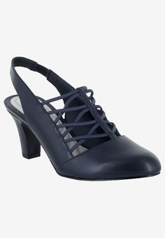 Another great find on Navy Berry Slingback Pump - Women Comfortable Dress Shoes, Women's Pumps, Heels, Handbag Stores, Slingback Pump, Baby Clothes Shops, Shoe Brands, Lady, Shoes Online