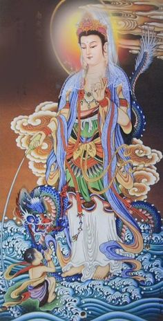 In Buddhism, compassion is embodied in the bodhisattva Guanyin (Kuan Yin) who is said to manifest wherever beings need help. The Hearer of Cries. Posted by Sifu Derek Frearson. Buddha Kunst, Buddha Art, Buddha Buddhism, Art Japonais, China Art, Guanyin, Gods And Goddesses, Religious Art, Durga