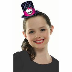 Click for larger picture of MONSTER HIGH PARTY HATS PARTY SUPPLIES