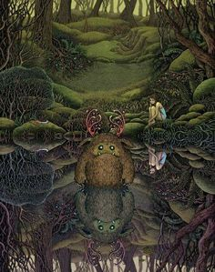 Kai Fine Art is an art website, shows painting and illustration works all over the world. Art And Illustration, Fantasy Drawings, Fantasy Kunst, Fantasy Art, Pen Drawings, Gel Pen Art, Gel Pens, Forest Scenery, Ghost In The Machine