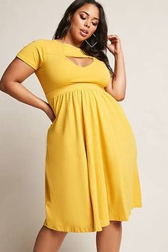 6afb220ea7fe9 Rebdolls Inc Plus Size Fit   Flare Dress Curvy Women Fashion