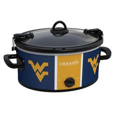 I want this! West Virginia Mountaineers Collegiate Crock-Pot� Cook