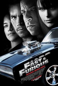 $5.84 - Fast And Furious 4 2009 Classic Movie Poster Art Deco Vin Diesel P5182 #ebay #Collectibles