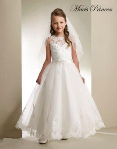 designer first communion dresses - Google Search                                                                                                                                                                                 Más
