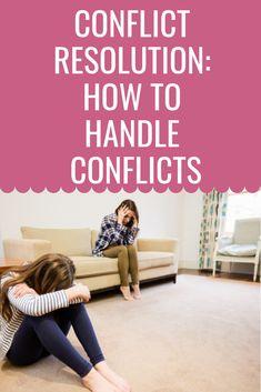 Conflict Resolution Bundle: How to Handle Conflicts School Resources, Classroom Resources, Learning Resources, Teacher Resources, Teaching Ideas, Classroom Ideas, Behavior Management Strategies, Classroom Management, Teacher Hacks