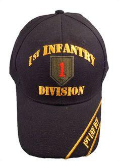 1st Infantry cap