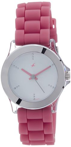 27df147c4 Buy Fastrack Beach Upgrades Analog White Dial Women s Watch -NK9827PP07  Online at Low Prices in India - Amazon.in
