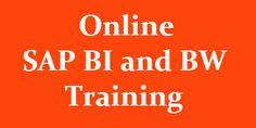 Our Online SAP BI Training program is designed to equip you with the desired skill set. Once you finish our Online SAP BW training course, you will be in a better position to explore SAP BI/BW career options. The SAP BI/BW online training program is carefully designed to provide you right combination of theory and practical knowledge.For more info visit  http://www.vteaminc.com/index.php/online-courses/sap-business-warehouse-bi-bw-online-training.html