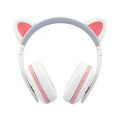 Cat Ear Headphones for Girls - Censi Cat headphones Wireless Over Ear Bluetooth Headsets with Mic for Girlfriend, Wife, Women, Kids, Valentines Day Gifts for Her Cat Headphones, Best Noise Cancelling Headphones, Waterproof Headphones, Running Headphones, Bluetooth Headphones, Cool Tech Gifts, Valentines Day Gifts For Her, Kids Valentines, Headphone With Mic