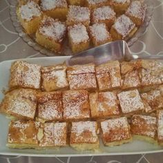 Pite s vrlo lijepim aromatičnim kremom ! ~ Za kuhanje i RECEPTI Greek Sweets, Greek Desserts, Greek Recipes, Desert Recipes, Easy Desserts, Sweet Buns, Sweet Pie, Sweets Recipes, Cooking Recipes