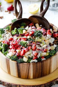 Strawberry Broccoli Salad will be one of the best salads that you make ...