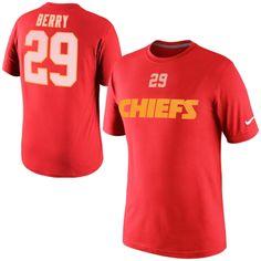 Nike Eric Berry Kansas City Chiefs Player T-Shirt - Red