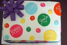 present cake ... very cute!