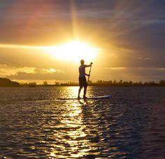 Paddleboarding in Bimini