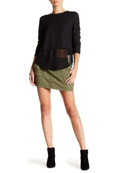Cargo Miniskirt