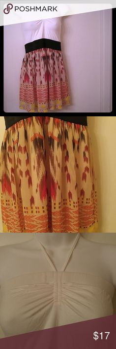 New Tribal tunic halter Halter tunic with tribal print - never used Say What? Tops Tunics