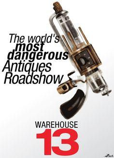 Warehouse 13 poster 2 by ~ZZTrujillo on deviantART