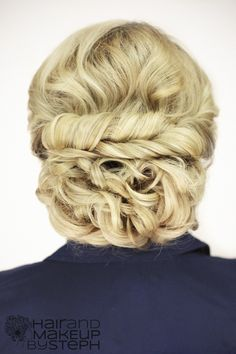 A great updo can take an outfit to the next level!
